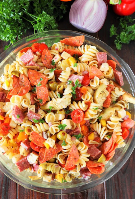 Antipasto Pasta Salad Image