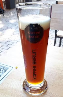 bière rousse Kaffee Berlin