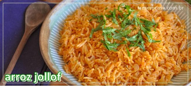 receita de arroz jollof
