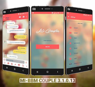 BBM MI-COUPLE V3.1.0.13 APK