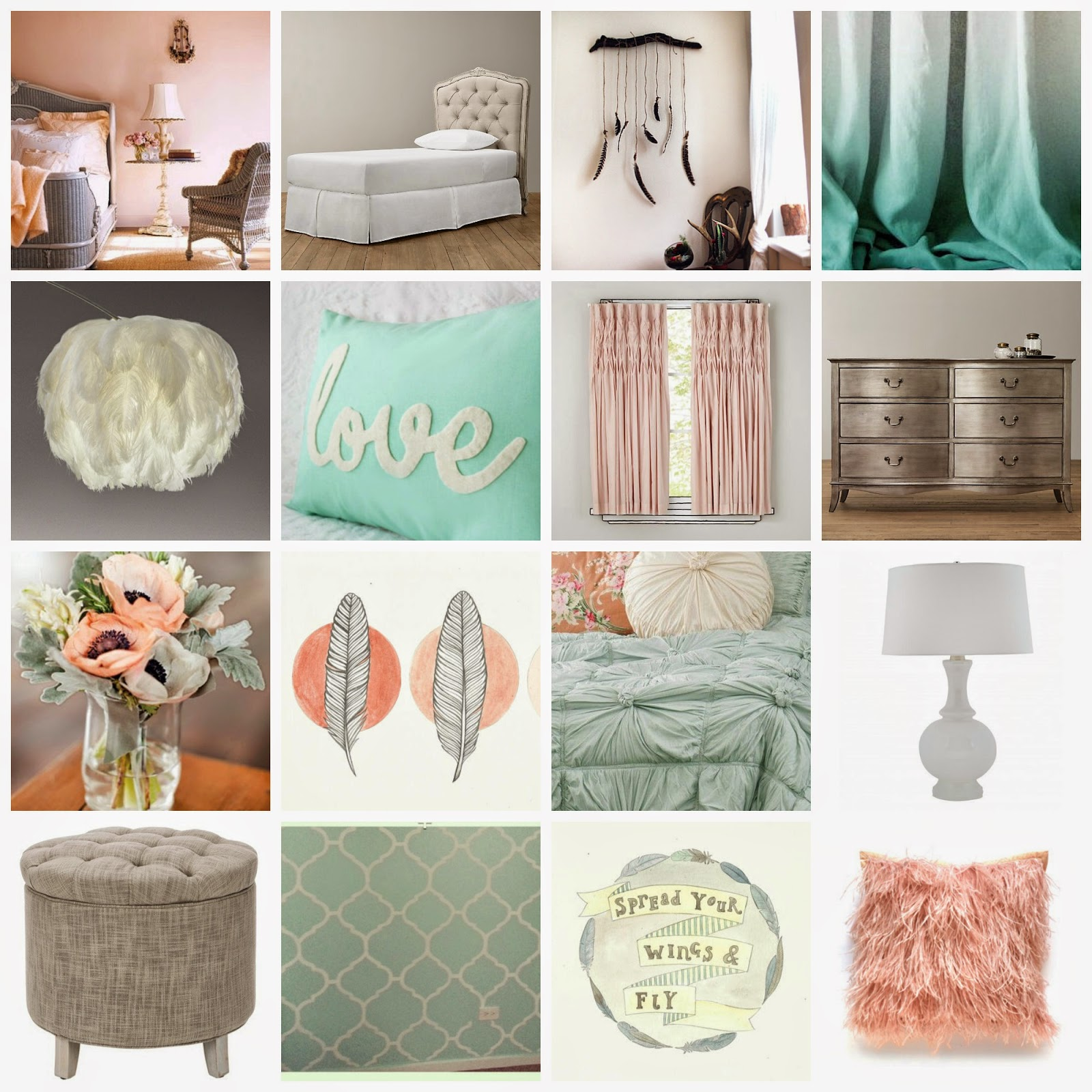 Mint Green Bedrooms For Girls Bedroom Curtains 2016 Eclectic Bedroom Furniture Bedroom Design With Bathroom: My Renovated Life: I'm Not A Girl