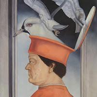 Gregorio Sabillón pintura surrealista