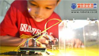 Franchise Indonesia sekolah robot ROBOTA