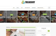 (Free)(Premium) Treasury Blogger Template Themes