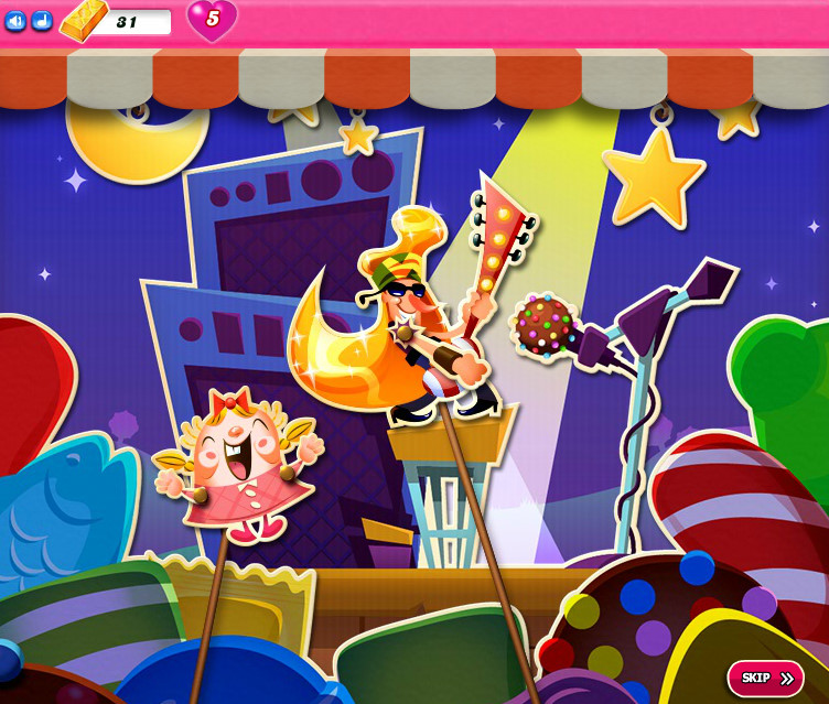 Candy Crush Saga level 2526-2540