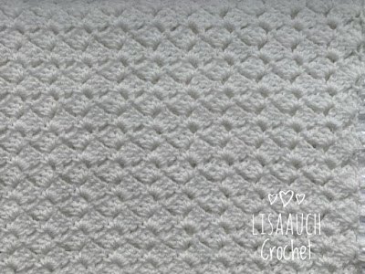 c2c block stitch worked in a row Easy baby crochet blanket stitch