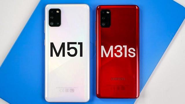ماذا تعرف عن الهاتفين الجديدين من سامسونج Galaxy M31s و Galaxy M51