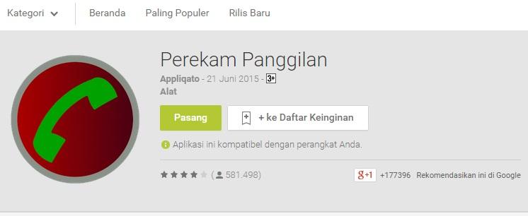 Aplikasi Call Recorder Terbaik Untuk Android