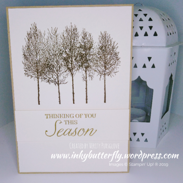 Winter Woods Stampin Up