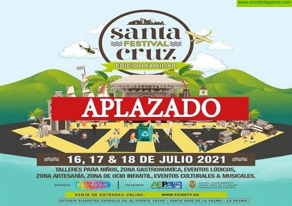 Se aplaza el Santa Cruz Festival por el aumento de casos de COVID-19 en La Palma