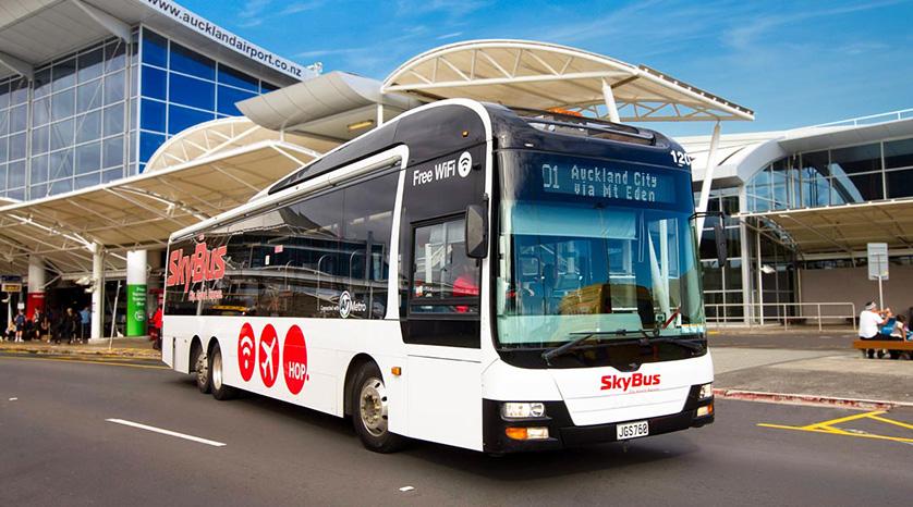 SkyBus Auckland.
