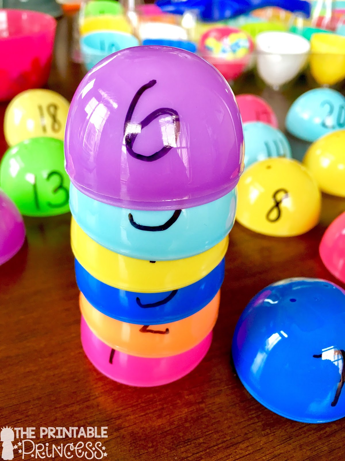 The Printable Princess Easter Egg Math Activities For