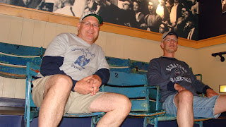 Trippers inside Roger Maris Museum - Fargo, ND