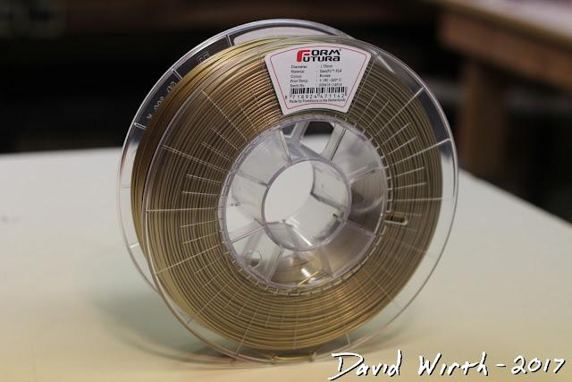 metallic 3d print filament