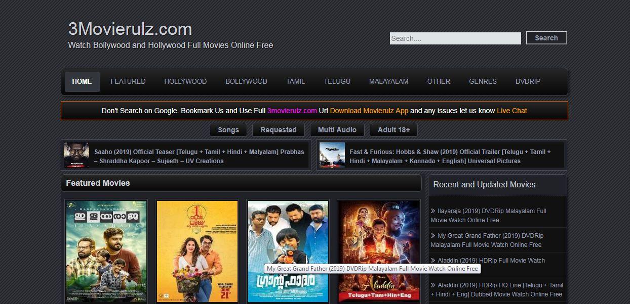 Movierulz pe:- Hollywood,Bollywood,Telugu movie Watch