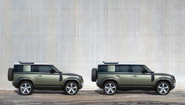 Land Rover Defender được thiết kế rất nổi bật và cứng cáp