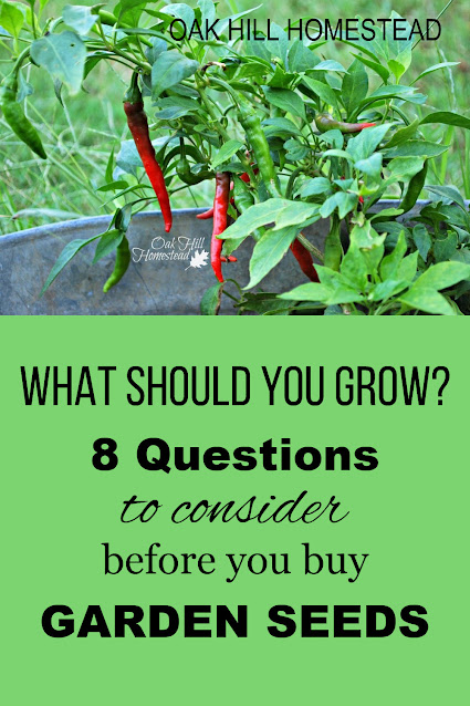 What should you grow in your garden? Use these 8 tips to help you decide.