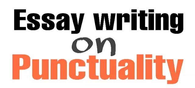 Punctuality essays