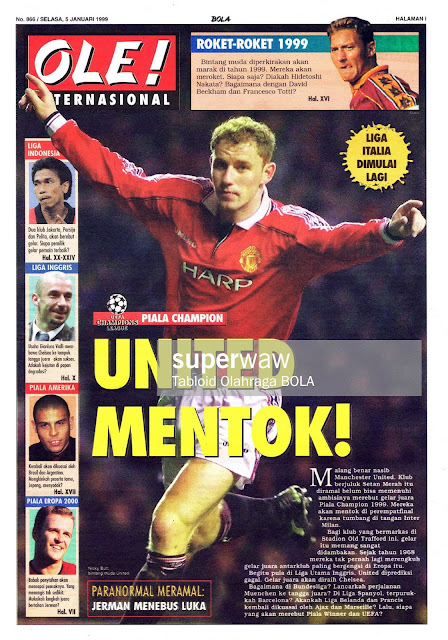 NICKY BUTT MANCHESTER UNITED 1999 CHAMPIONS LEAGUE