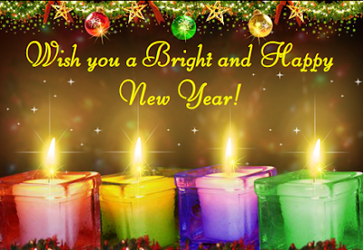 Wish you happy new year wallpaper