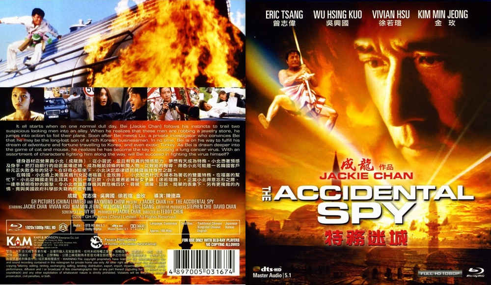 The Accidental Spy (2001) Hindi Dubbed 720p & 480p HDRip