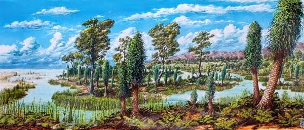 Resultado de imagem para florestas carboniferas