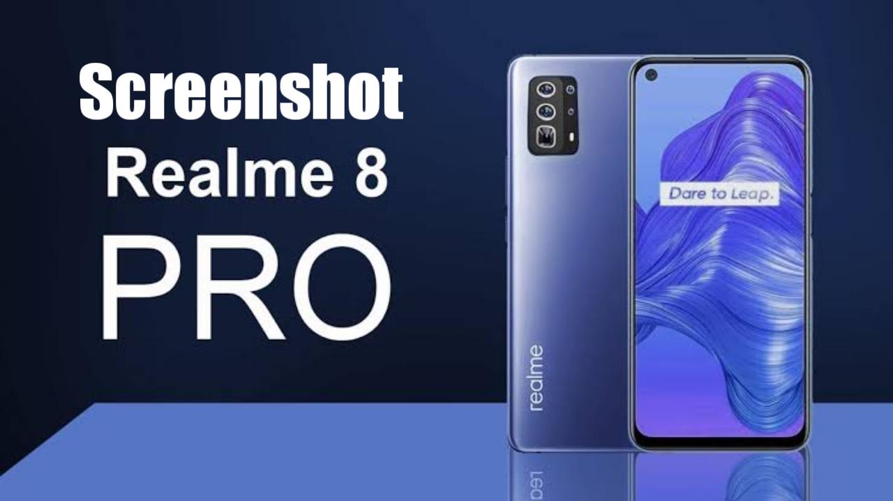 How to take a Screenshot on the Realme 8