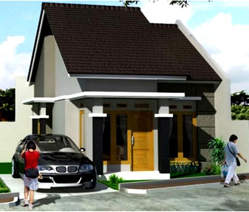 contoh desain rumah tipe 36