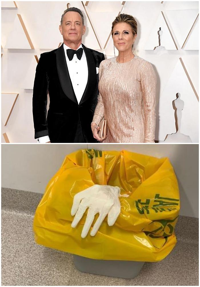 Actor Tom Hanks and his wife Rita Wilson have coronavirus
