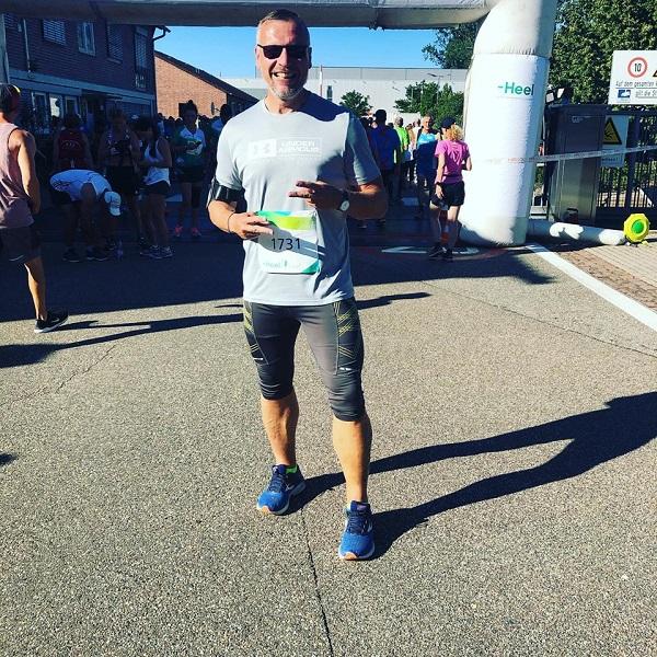 Ich am Start des Heel-Laufs 2019 in Baden-Baden