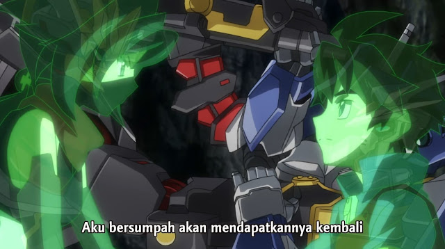 Gundam Build Divers Episode 11 Subtitle Indonesia