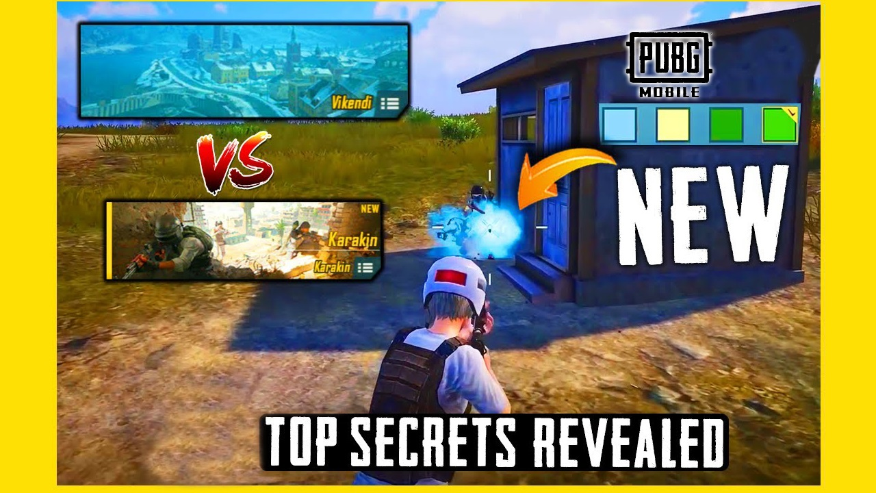 PUBG Mobile Season 18 Top Secrets and other Updates
