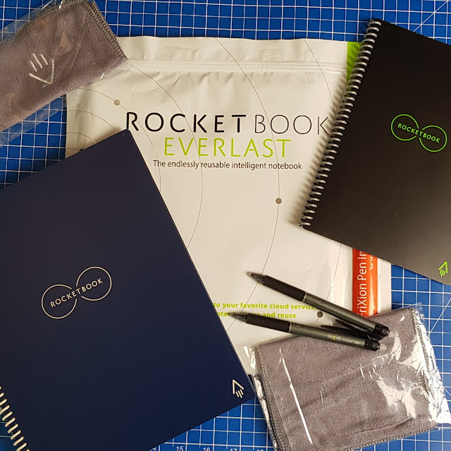 Rocketbook Everlast bag and contents for 2 basic sets