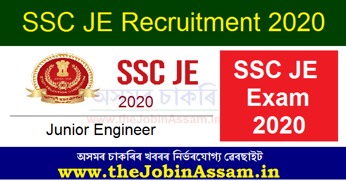 SSC Junior Engineer Recruitment 2020: Apply Online @ Ssc.Nic.In