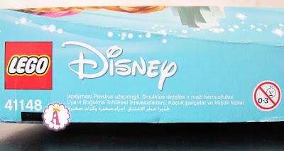 Возраст для сборки игрушки Lego Disney Frozen Elsa's Magical Ice Palace 41148