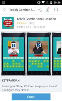 Download Game Tebak Gambar Anak Jalanan [GRATIS]