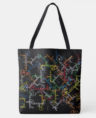 Chic Bags and Bliss Creative Pattern Canvas Tote at Zazzle