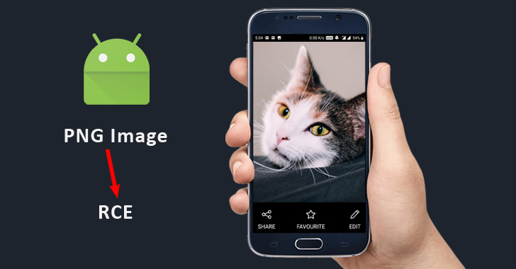 android mobile hack with image