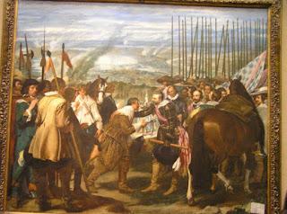 Las lanzas de Velázquez. Museo del Prado, Madrid.