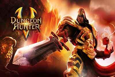 لعبة حصن الصياد Dungeon Hunter 5