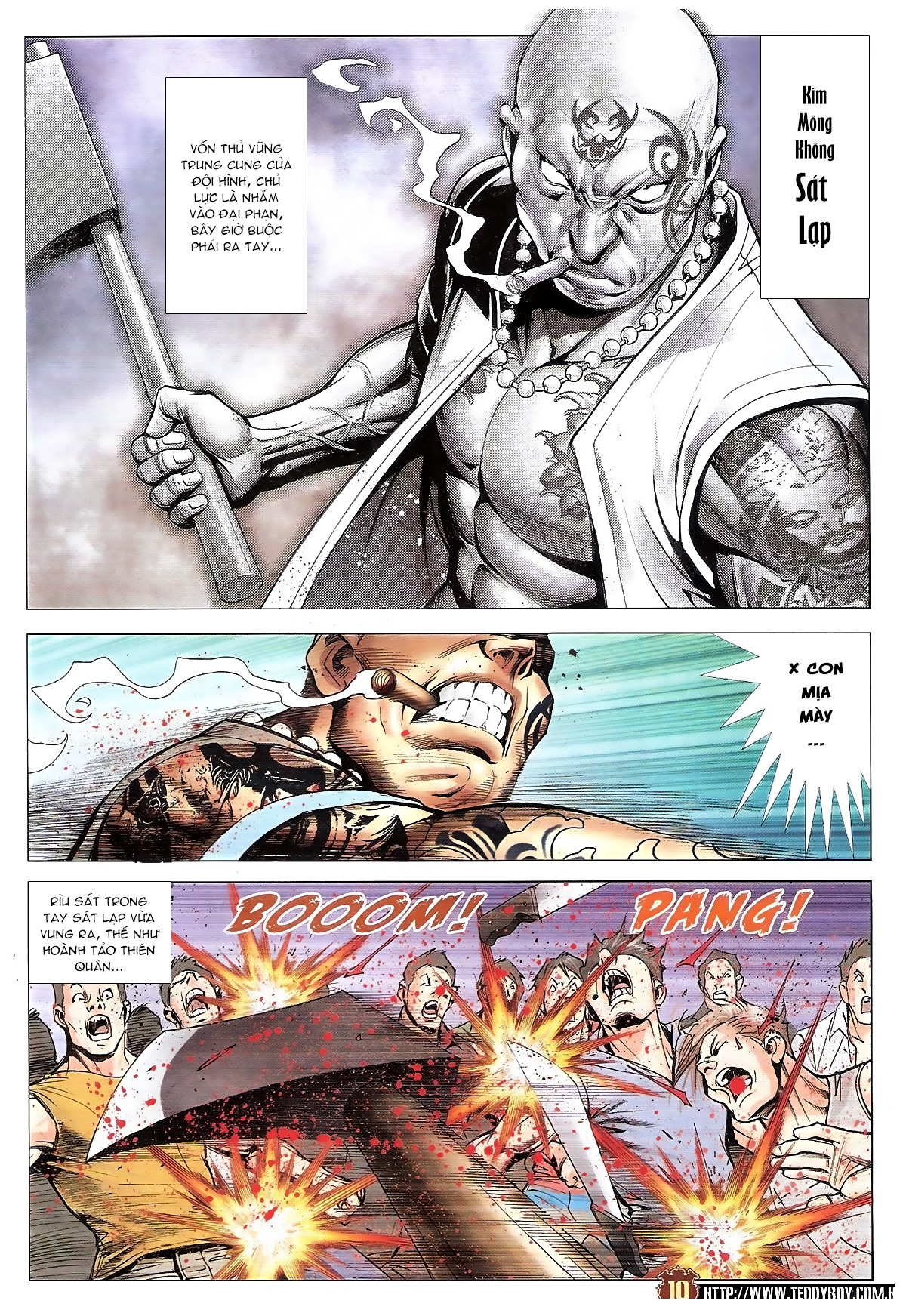 Người Trong Giang Hồ chapter 1834: kim mông không vs kim mông không trang 8