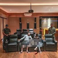 Beredar Foto Pasangan Selebriti Dikawal TNI Saat Plesir