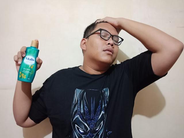 Pengalaman Suami Mandi Parfum Menggunakan Vitalis Body Wash
