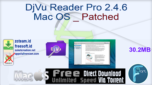 DjVu Reader Pro 2.4.6 Mac OS _ Patched