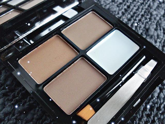 Focus & Fix Eyebrow Shaping Kit от Makeup Revolution  в оттенке Medium Dark, тени для бровей, палетка для бровей, брови, Makeup Revolution, Makeup Revolution отзывы, Focus & Fix Eyebrow Shaping Kit от Makeup Revolution отзывы