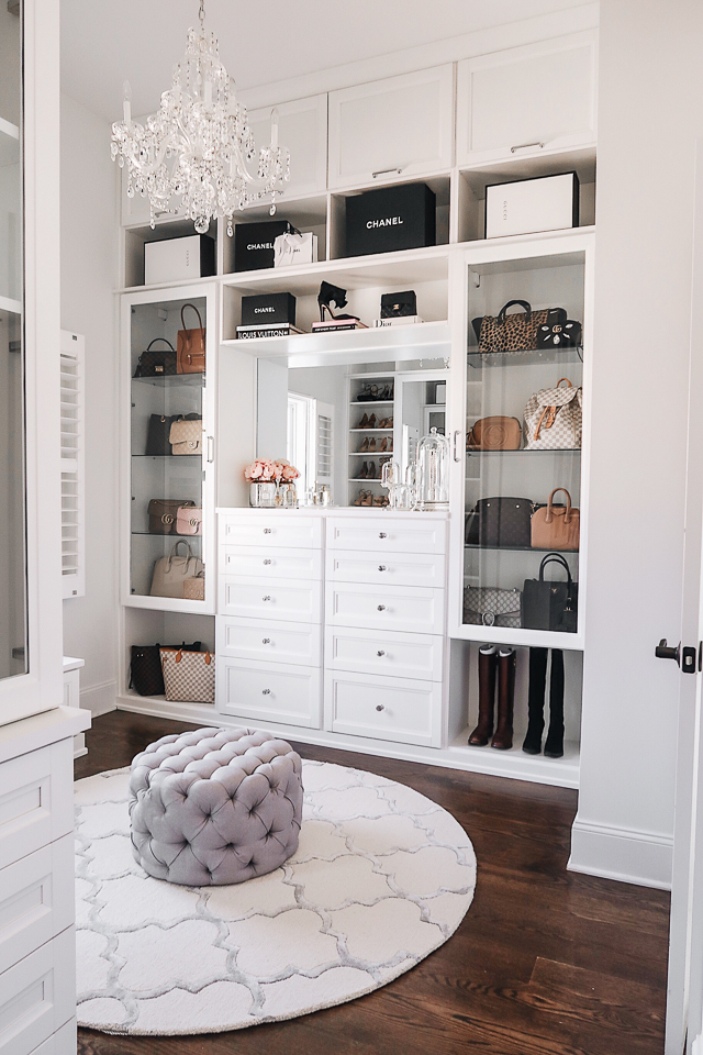 Southern Curls & Pearls: Master Closet Reveal