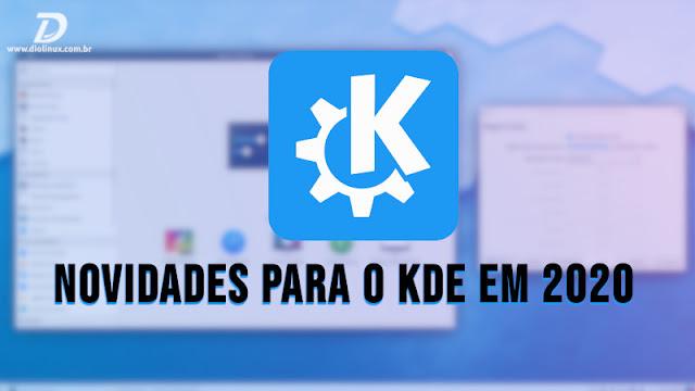 Projeto KDE planeja novo visual para o KDE Plasma e o Menu iniciar em 2020