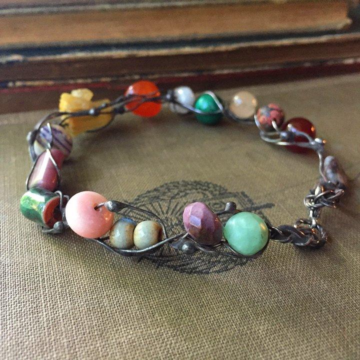 Fairy ring bracelets by Laura Love, Emmaus PA.