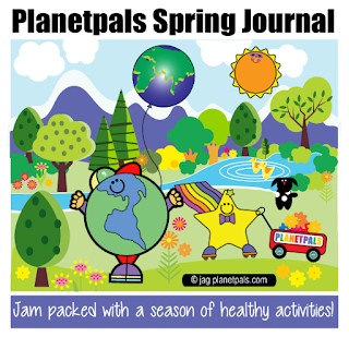 Spring Journal Spring Activities, Crafts, all Healthy All Fun!