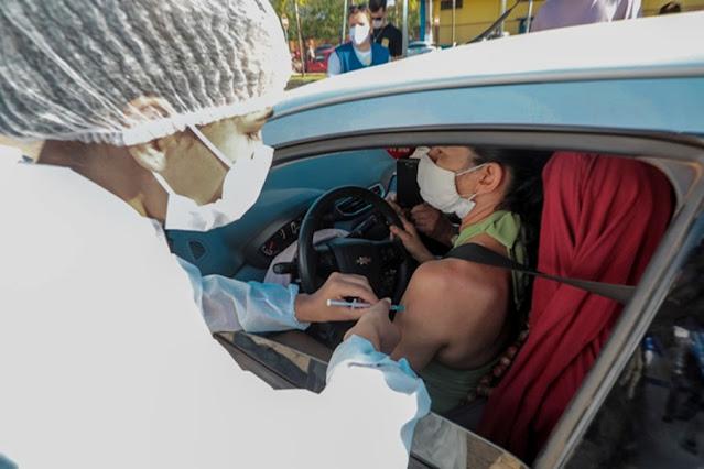Prefeitura passa a vacinar pessoas a partir de 38 anos; veja locais de imunização